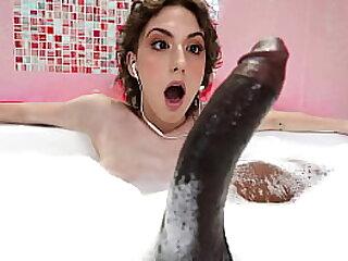 She loves will not hear of stepdad's huge black cock